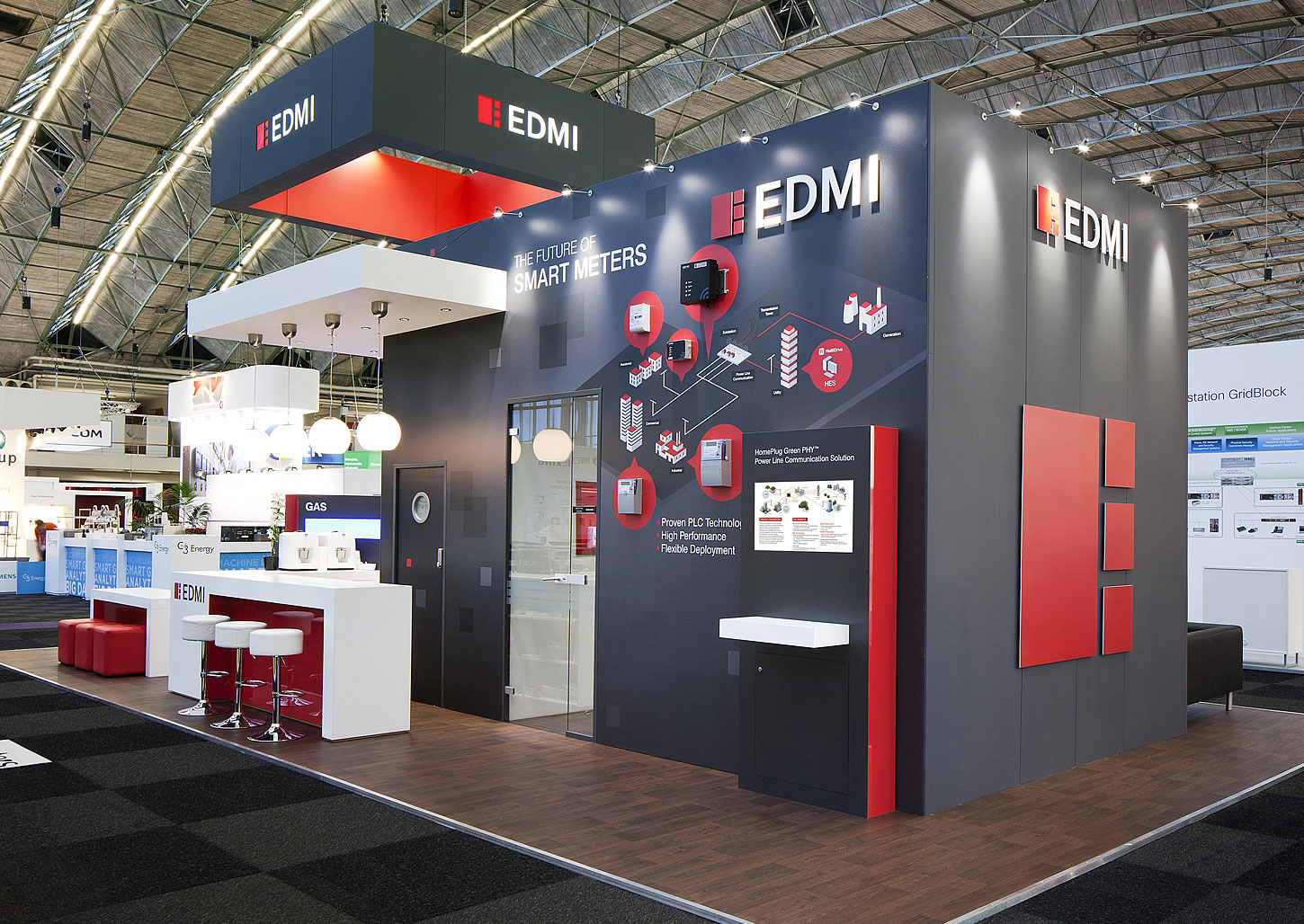 EDMI - exhibition design