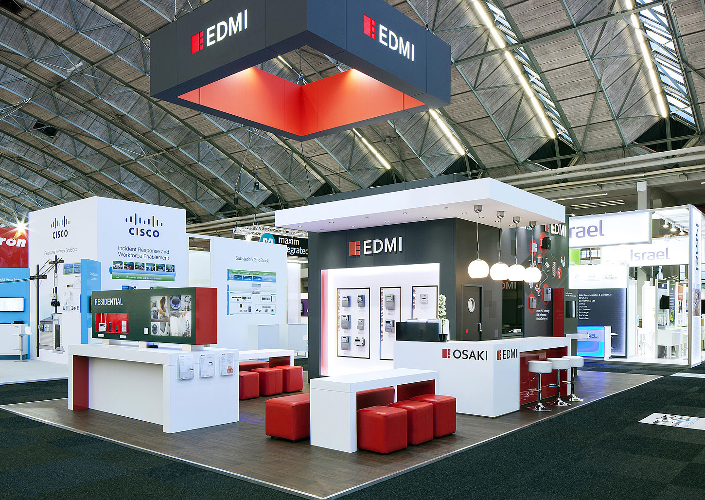 Exhibition Booth London : Infinite design consultants edmi europe exhibition