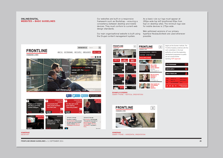 Frontline - brand guidelines
