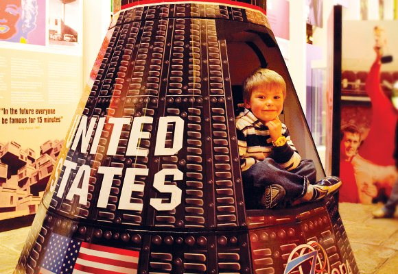 Sixties - Apollo space capsule