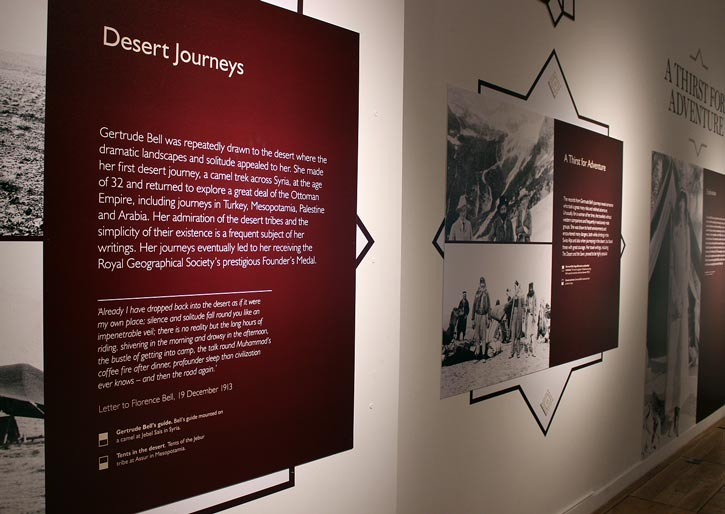 Gertrude Bell Exhibition - Great North Museum