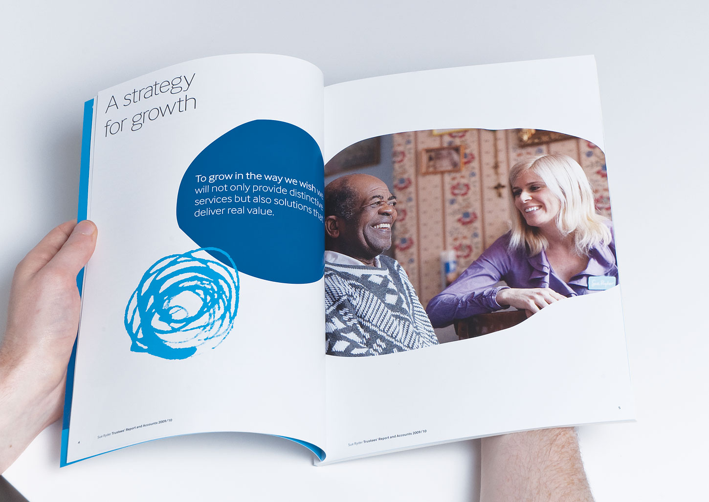 Sue Ryder - brand development