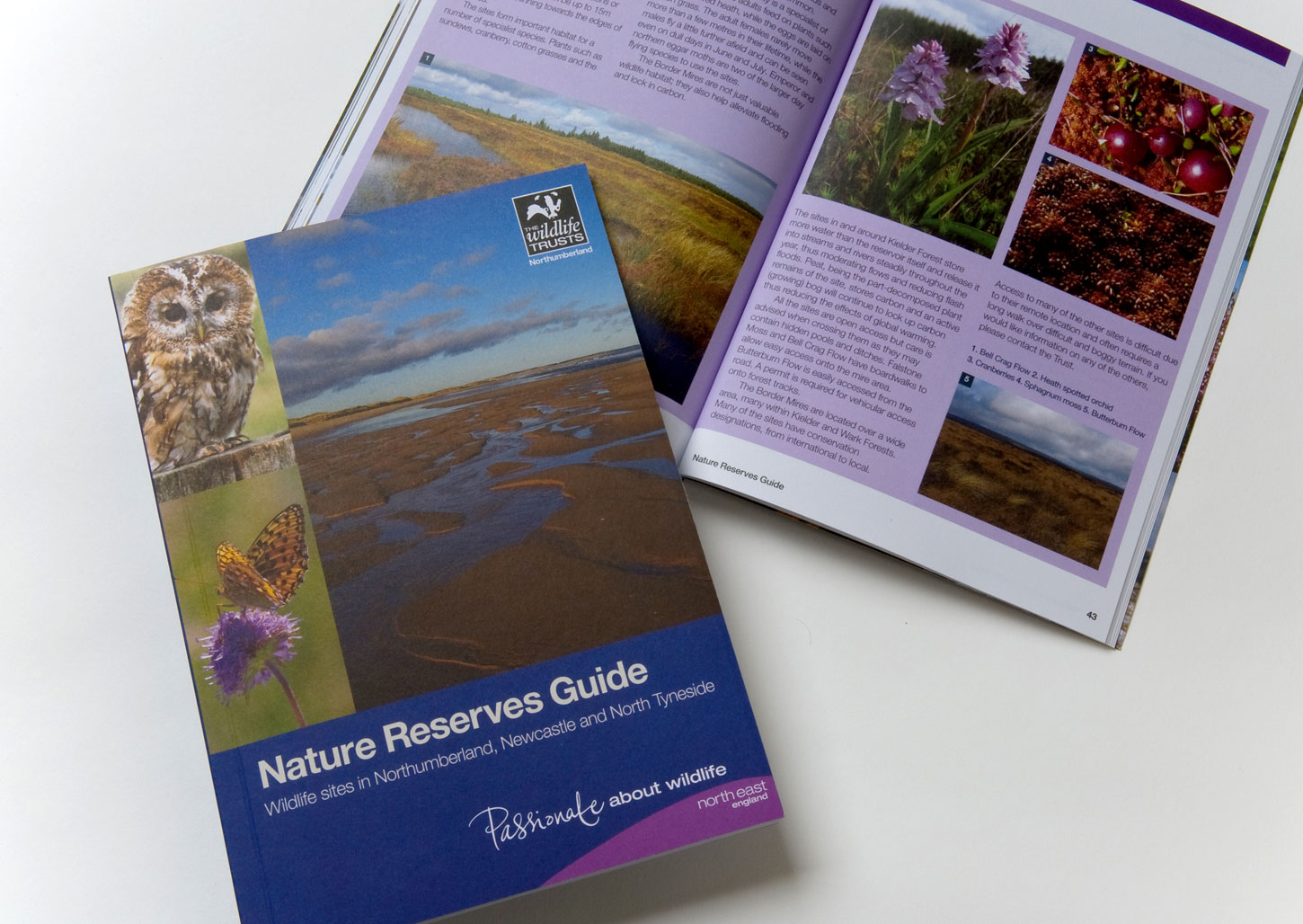 Printed - Northumberland Wildlife Trust Nature Reserve Guide